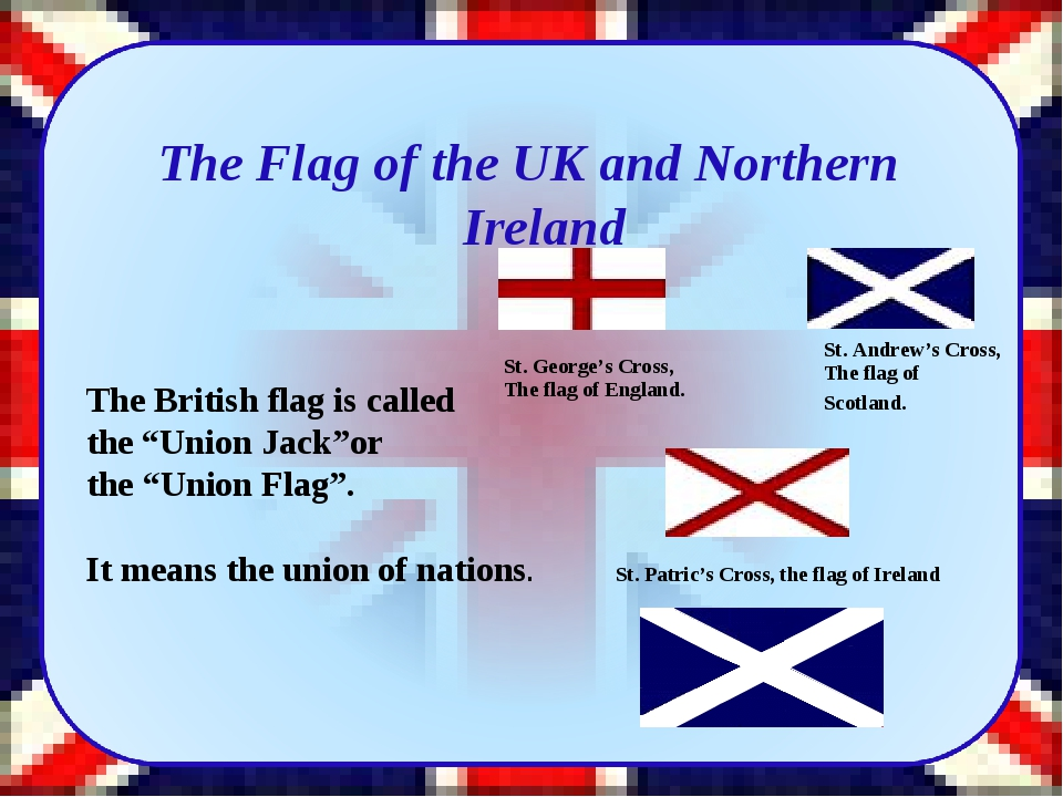The Flag of the UK and Northern Ireland St. George's Cross, The flag of Engl...