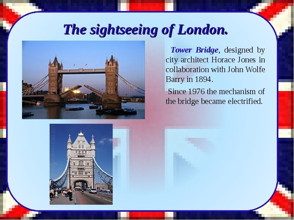 The sightseeing of London. Tower Bridge, designed by city architect Horace J...