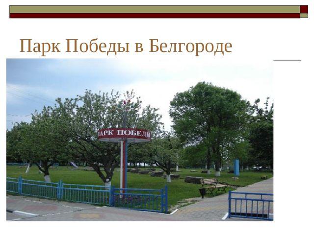 Парк Победы в Белгороде