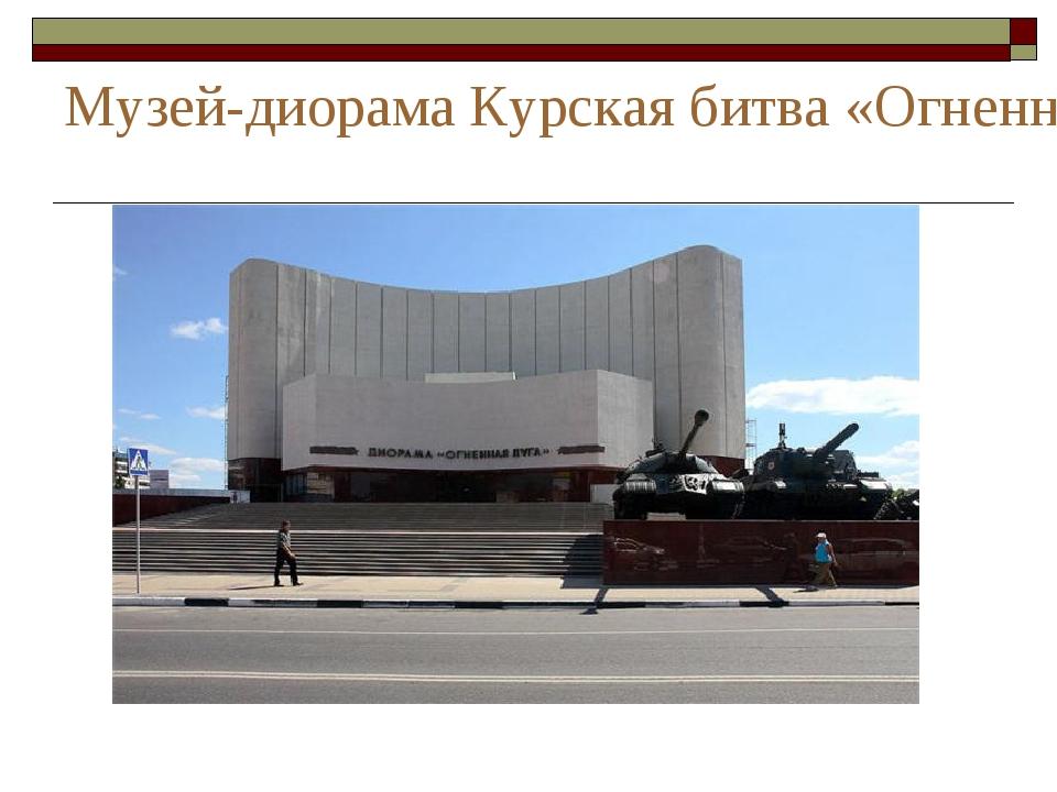 Музей-диорама Курская битва «Огненная дуга» Белгородское направление