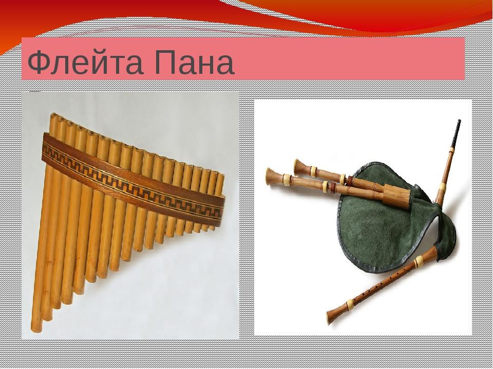 Флейта Пана Волынка