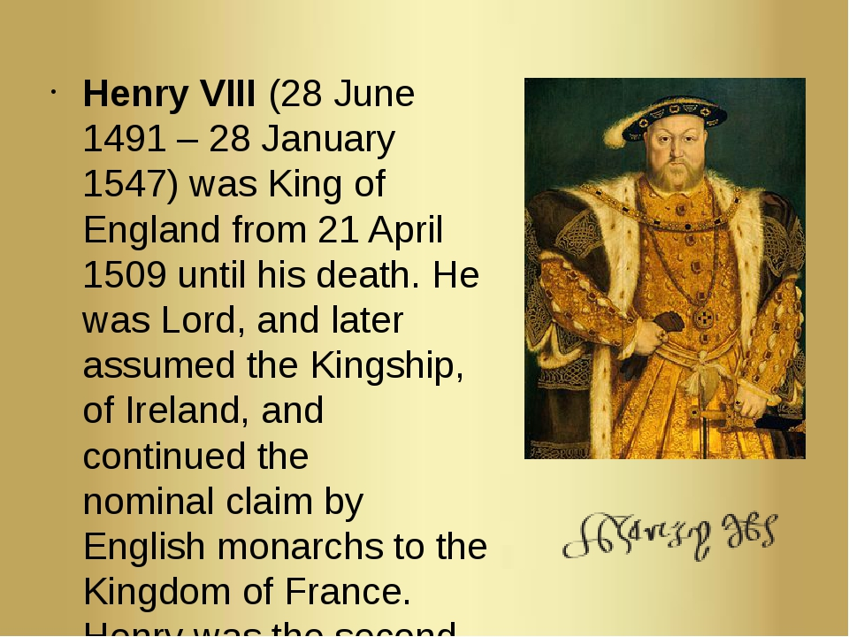 henry viii the king of england and ireland essay Henry viii was king of england from 1509 to 1547  the legacy of henry viii henry came to the throne with great gifts and high  and made ireland a kingdom.