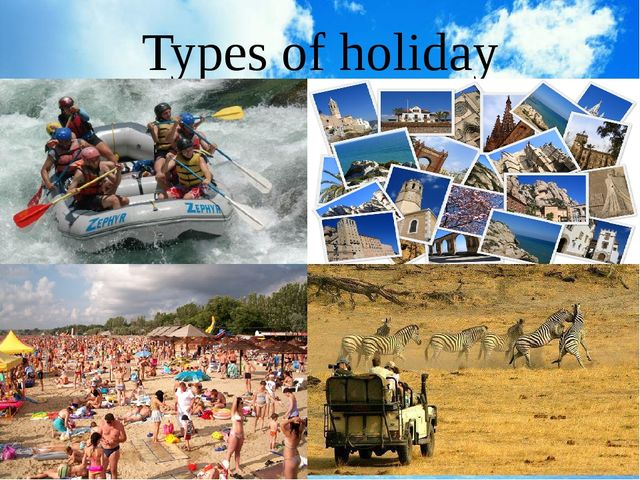 Types of holiday