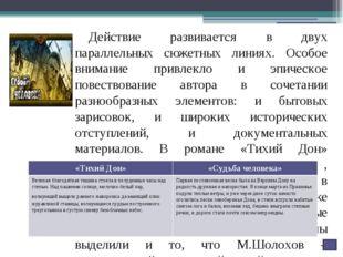 В языке самого автора тоже использованы разные элементы и интонации. Иногда е