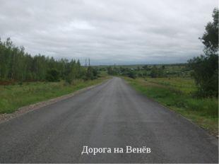 Дорога на Венёв