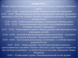 16 июня 2012 г. Что мы увидели в урочище Двенадцать ключей близ дер. Свиридов