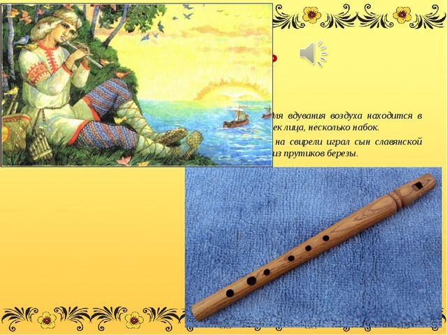 Свирель - древний духовой музыкальный инструмент. Поперечная флейта - это та,...