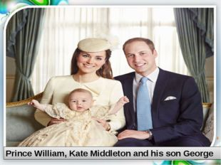 Prince William, Kate Middleton and his son George