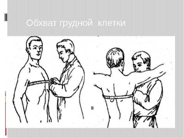 Обхват грудной клетки