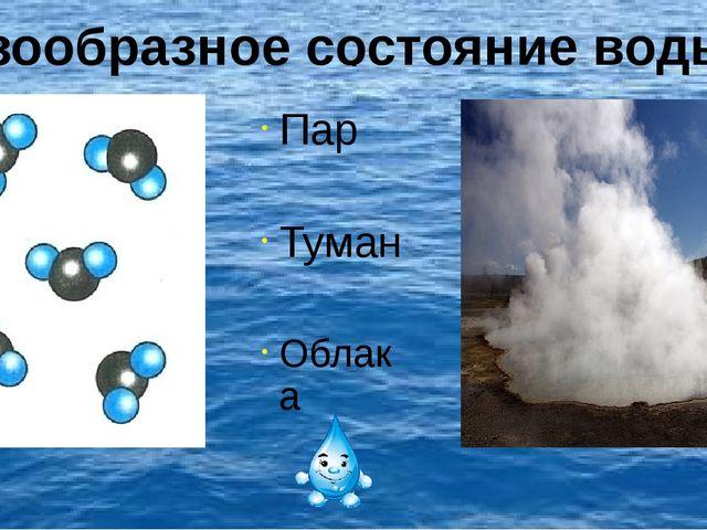 . Пар Туман Облака Газообразное состояние воды.