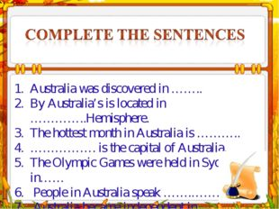 Australia was discovered in …….. By Australia's is located in …………..Hemispher