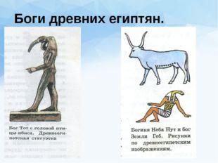 Боги древних египтян.