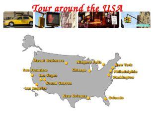 Tour around the USA
