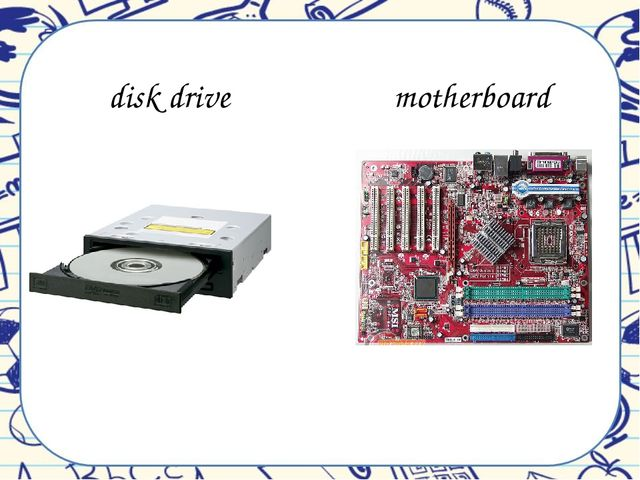 disk drive motherboard