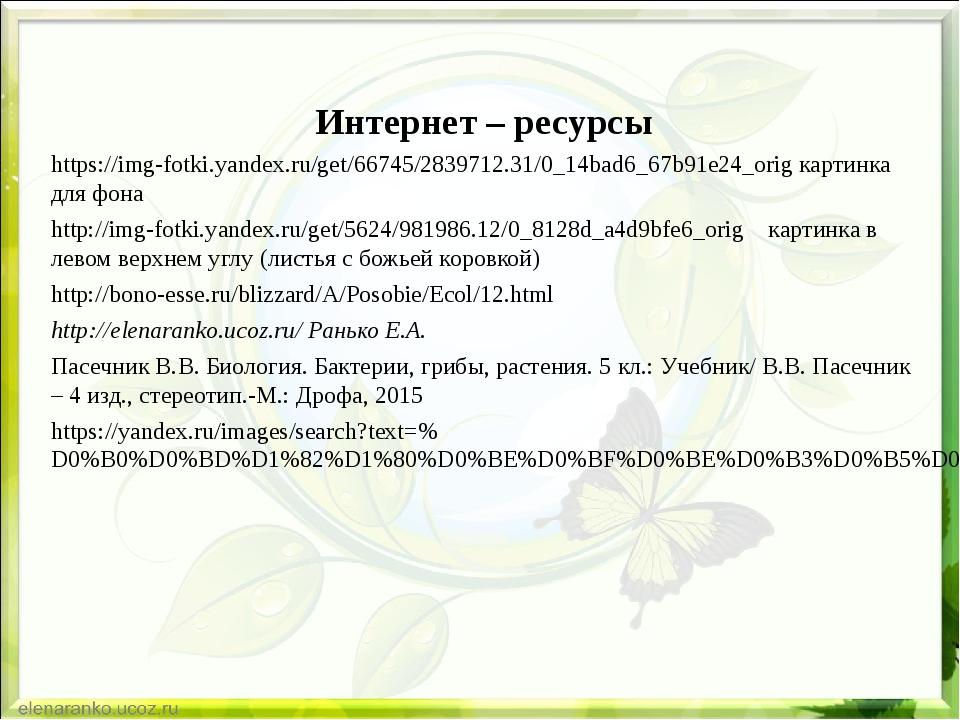 Интернет – ресурсы https://img-fotki.yandex.ru/get/66745/2839712.31/0_14bad6...