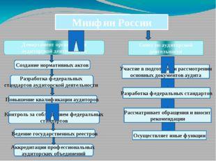 Минфин России Департамент организации аудиторской деятельности Создание норма