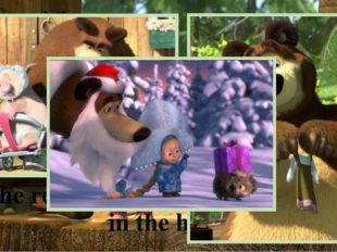 Masha and the Bear But she wants to find a friend who will play with her. Pla
