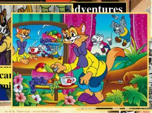 "The cat Leopold's adventures ""Leopold the Cat"" is a Good cartoon! The main ch"