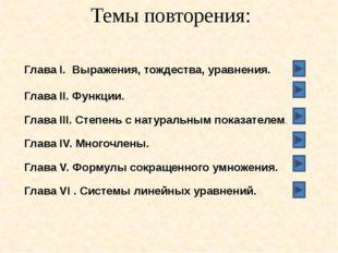 Глава IV. Многочлены Многочленом называется сумма одночленов.   Одночлены