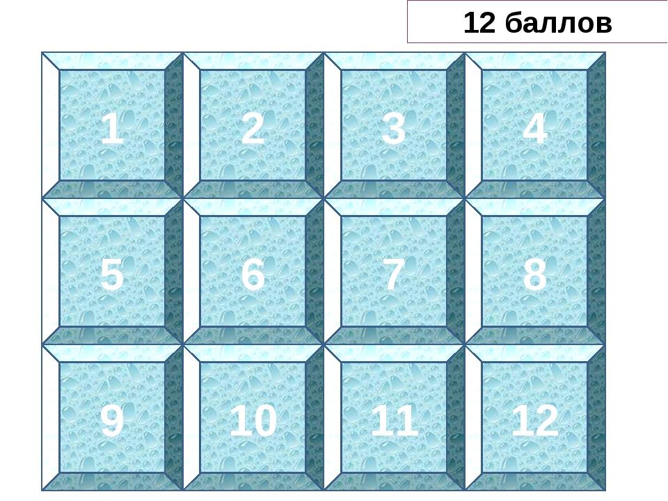 Байкальская губка 1 2 3 4 5 6 7 8 9 10 11 12 12 баллов