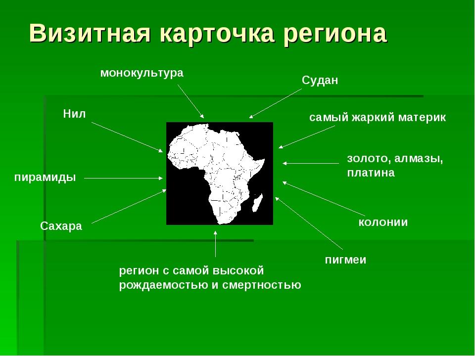 Визитная карточка региона Нил монокультура Судан самый жаркий материк пирамид...