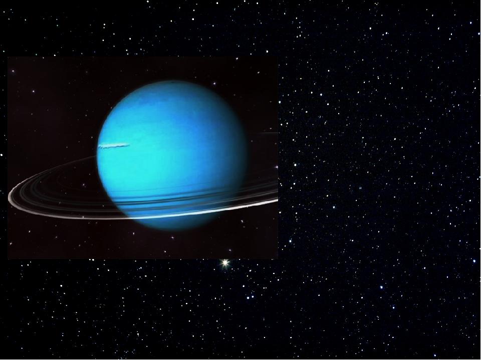 Уран – седьмая планета от Солнца. Сине-зеленый цвет Урана — результат прис...
