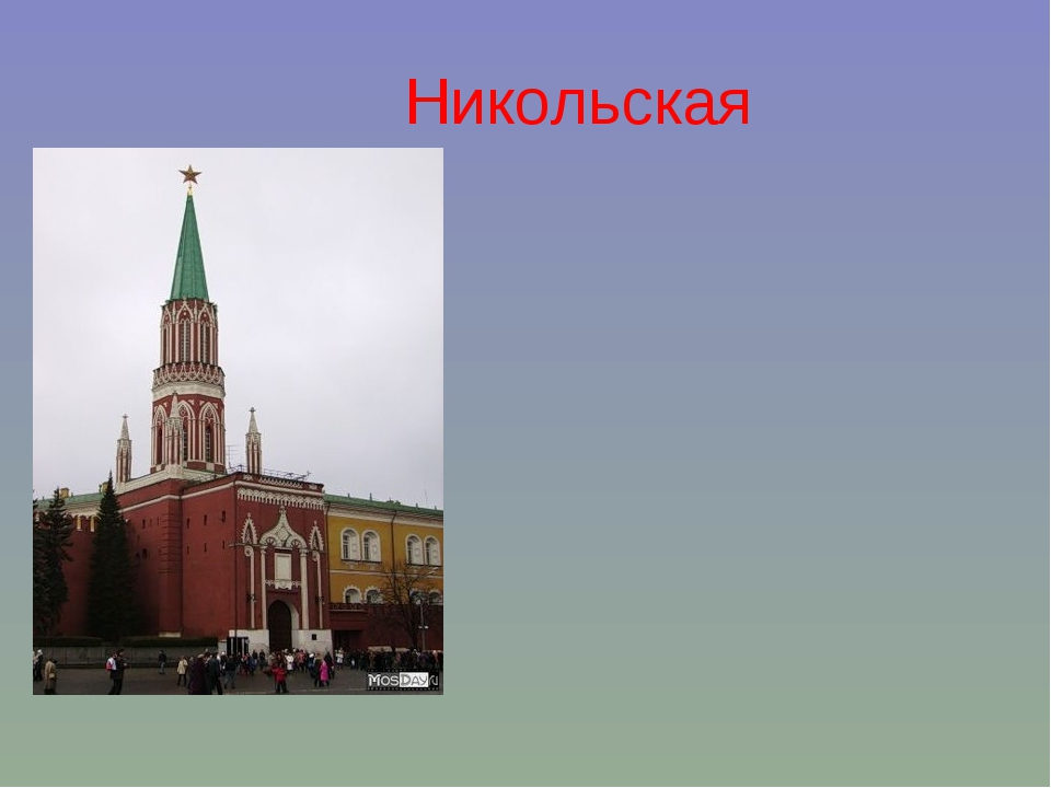 Никольская