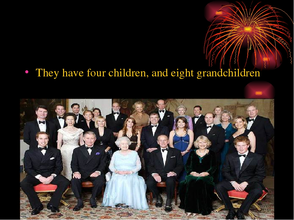They have four children, and eight grandchildren