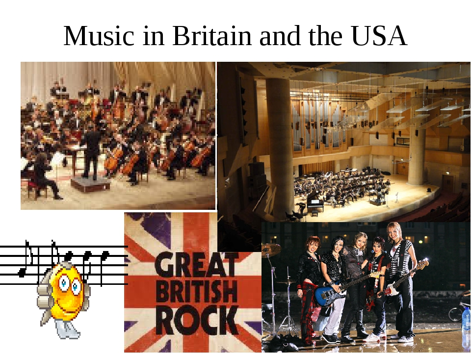 Music in Britain and the USA