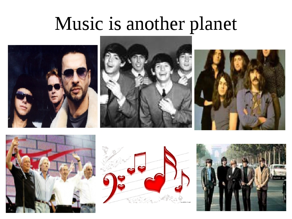 Music is another planet