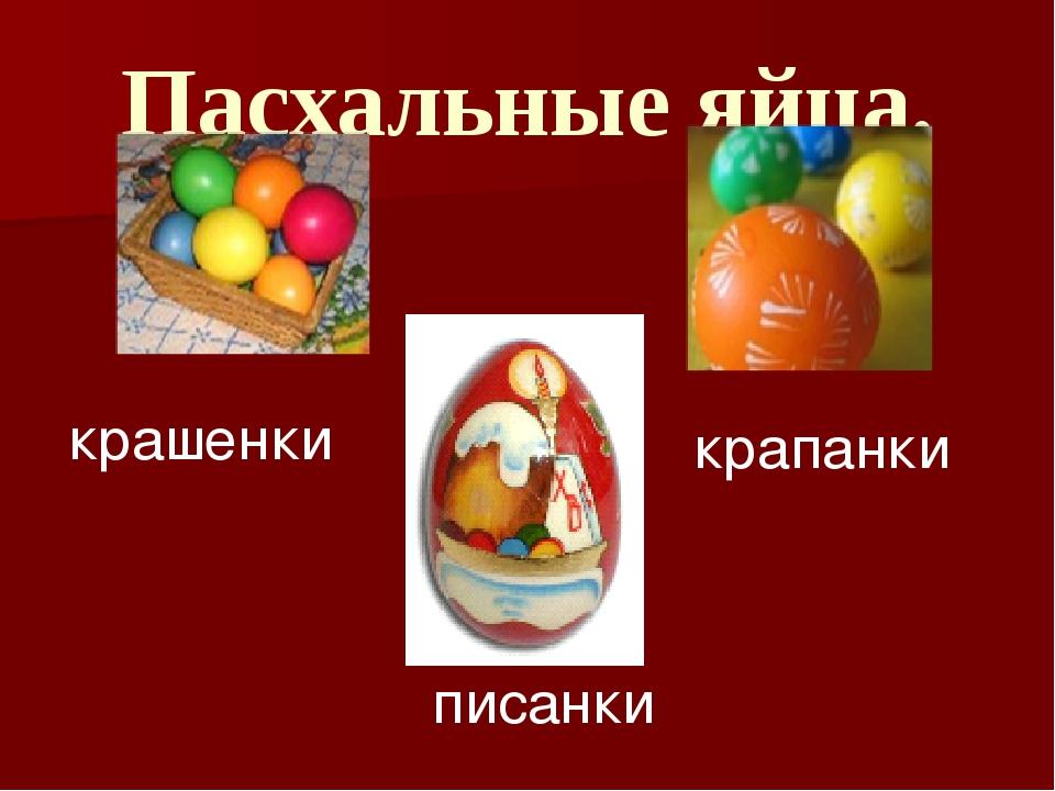 Пасхальные яйца. крашенки крапанки писанки