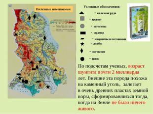 Полезные ископаемые - железная руда - гранит - шунгиты - мрамор - кварциты и