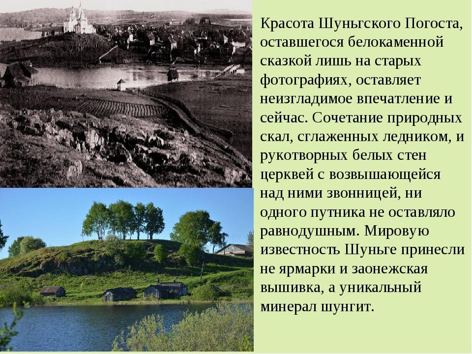 Красота Шуньгского Погоста, оставшегося белокаменной сказкой лишь на старых ф...