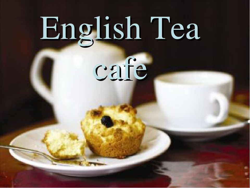 English Tea cafe
