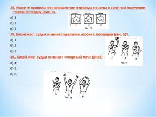 28. Укажите правильное направление перехода из зоны в зону при получении прав