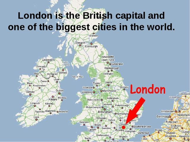 London is the British capital and one of the biggest cities in the world.
