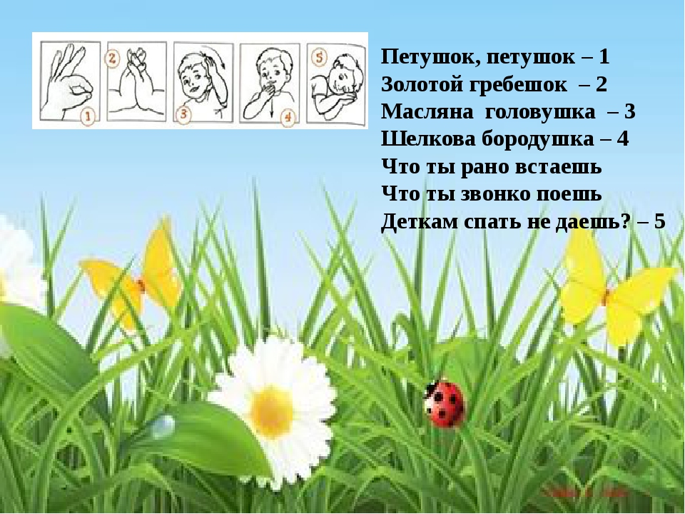 Петушок, петушок – 1 Золотой гребешок – 2 Масляна головушка – 3 Шелкова боро...