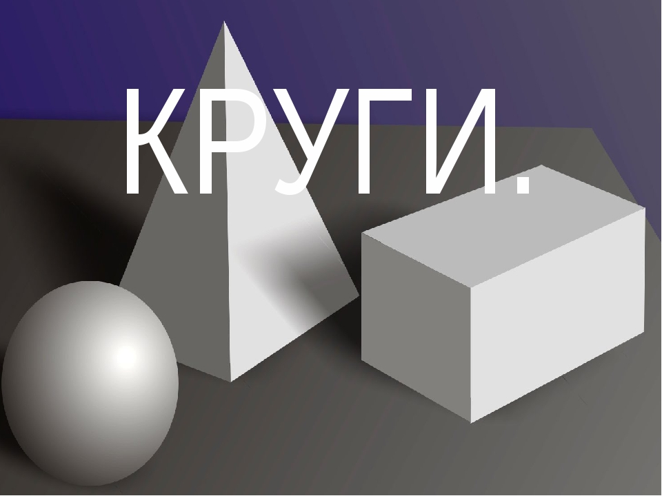 КРУГИ.