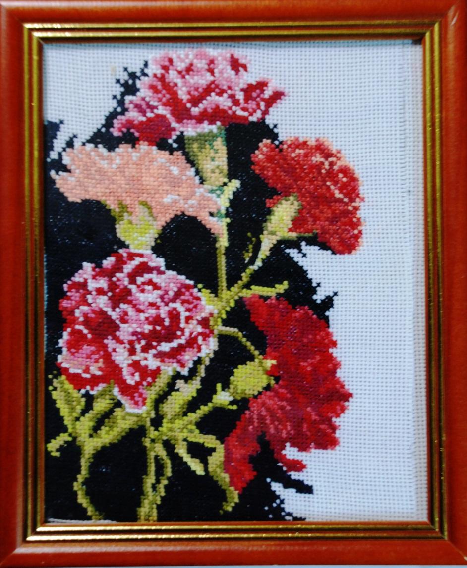 Творческие проект вышивка крестом