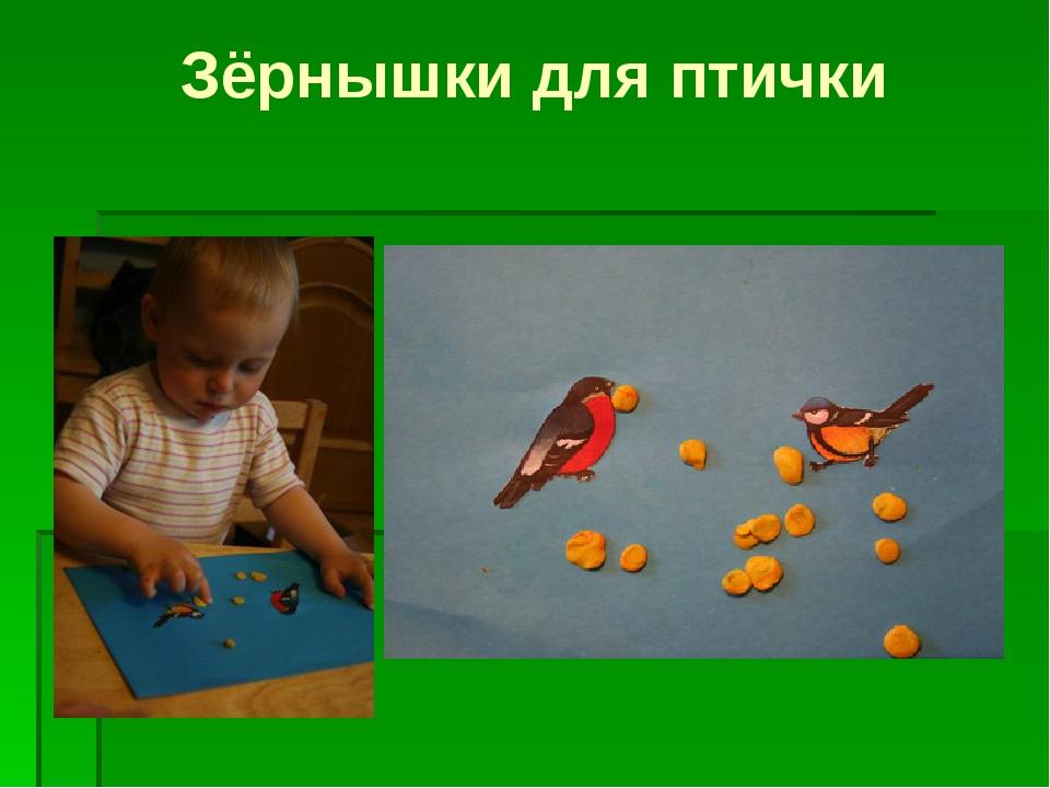 Зёрнышки для птички