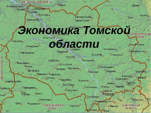 Экономика Томской области