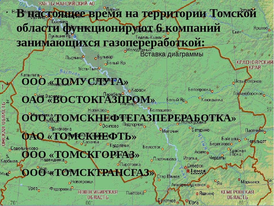 В настоящее время на территории Томской области функционируют 6 компаний зани...