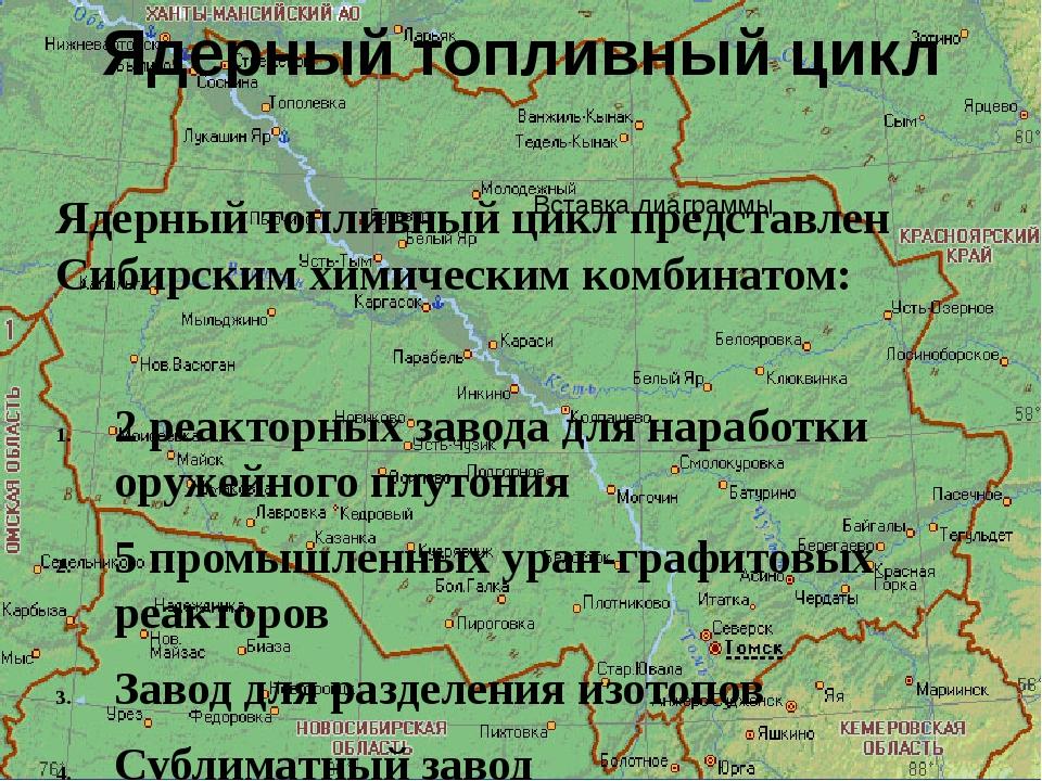 Ядерный топливный цикл Ядерный топливный цикл представлен Сибирским химически...