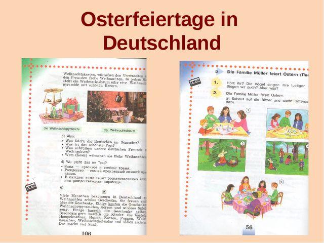 Osterfeiertage in Deutschland