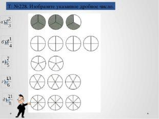 Действия с дробями Т: №230. Укажите координаты точек, отмеченных на координат