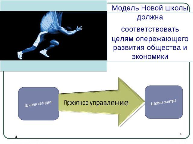 * Модель Новой школы должна соответствовать целям опережающего развития общес...
