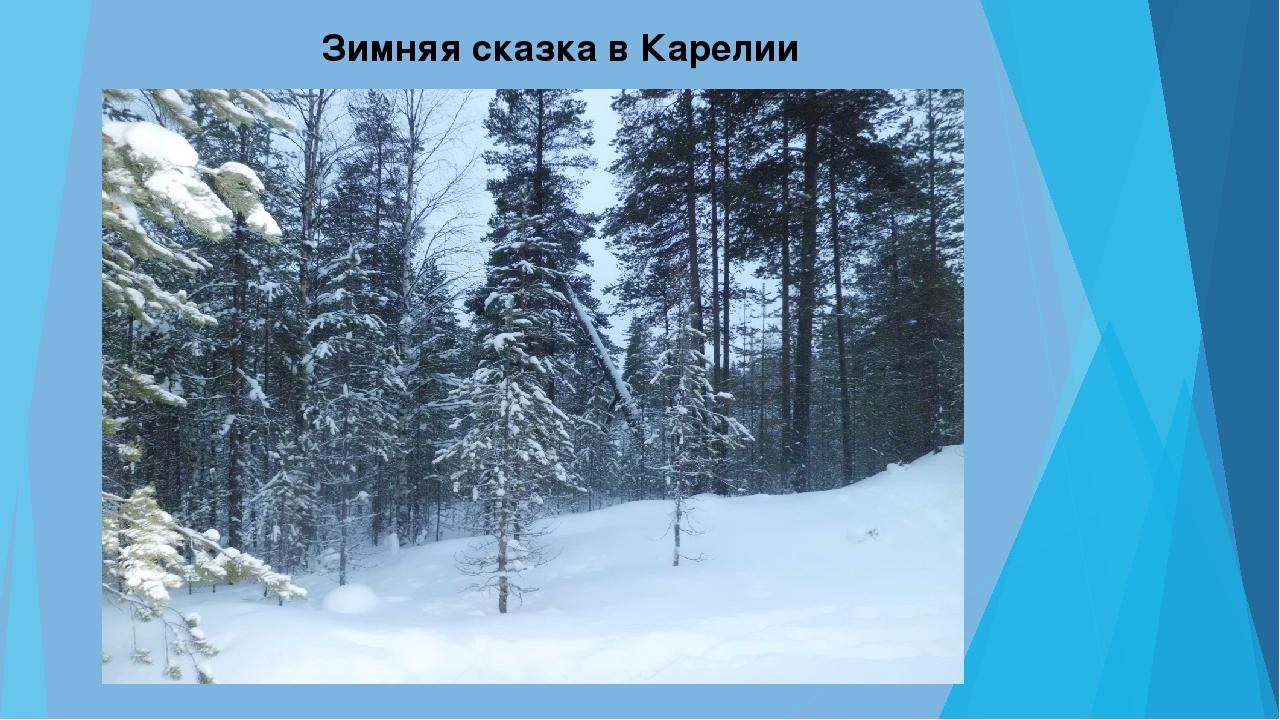 Зимняя сказка в Карелии
