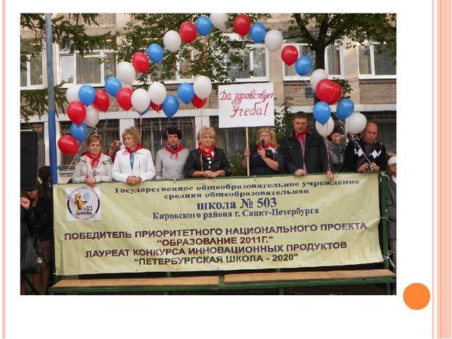 ГБОУ СОШ №503 Кировского района – школа здоровья