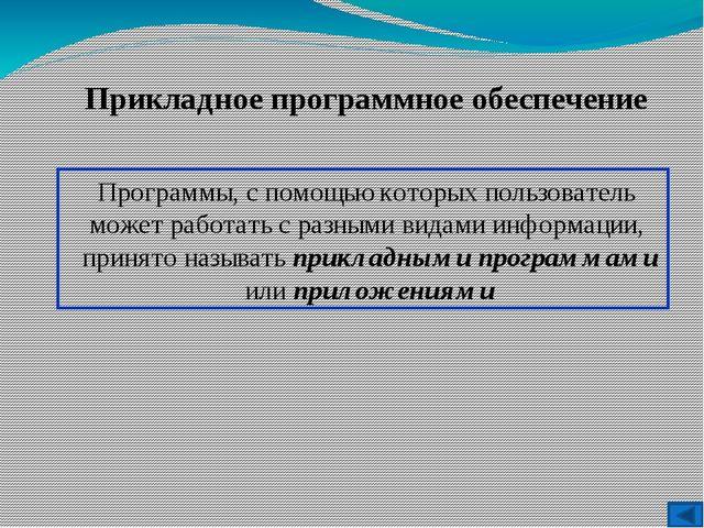 Ситуация Системное ПО Прикладное ПО Системы программирования Выпускной 11 кла...
