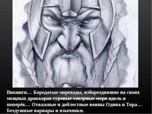 Викинги… Бородатые мореходы, избороздившие на своих мощных драккарах суровые